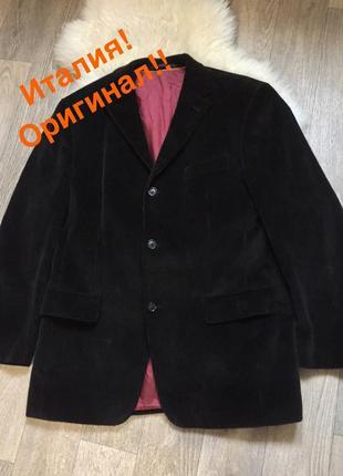 Шикарный🔥вельветовый пиджак от бренда renato cavalli