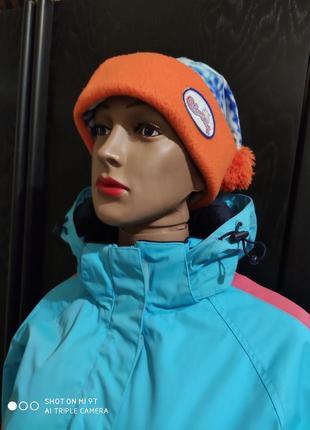 Лыжная спортивная шапка флисовая