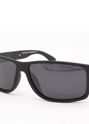 Мужские очки унисекс черные солнцезащитные новые