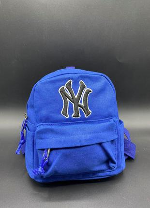 "Детский рюкзак ""ny"" цвет: синий"