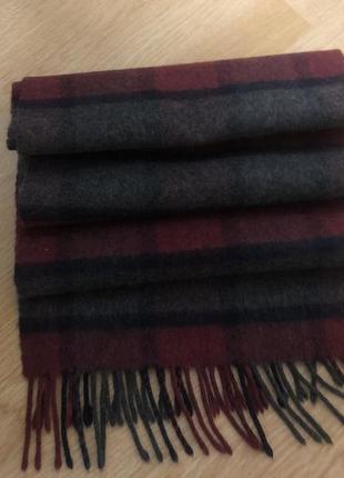 Royal speyside кашемировый шарф  178 / 28, шотландия