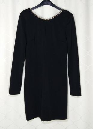 Шикарное вечернее платье чёрного цвета на новый год