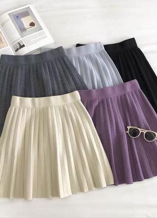 Плиссированные юбки ❣️