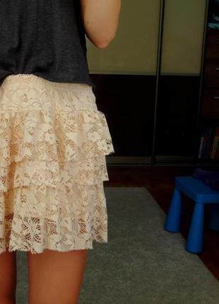 Мини-юбка zara
