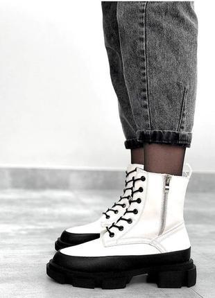 Ботинки зимние женские, черевики зимові жіночі