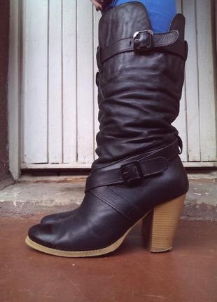 Зимние сапоги сапожки зимові чобітки