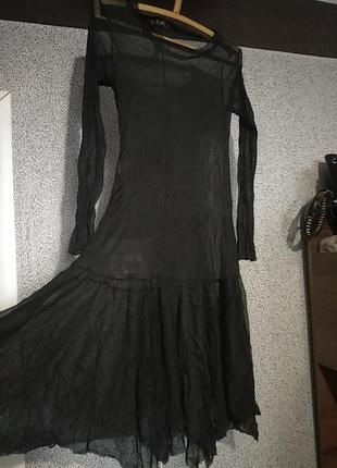 Платье сетка.