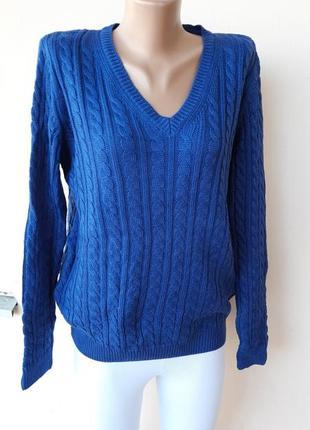 Синий свитерок