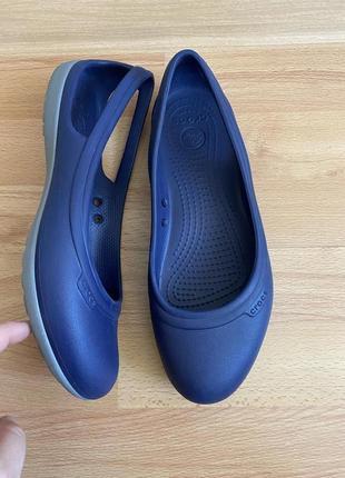 Мюли балетки crocs