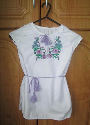 Платье вышитое 2