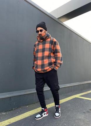 Мужская тёплая рубашка анорак
