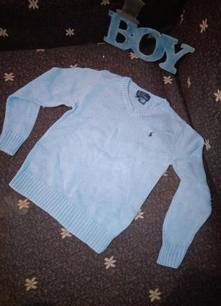 Детский свитерок поло