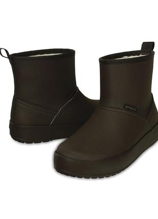 Crocs mahogany colorlite  boot