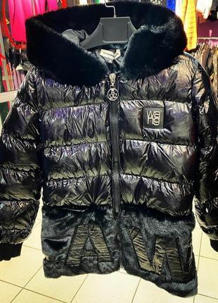 Шикарная стильная зимняя куртка, размер