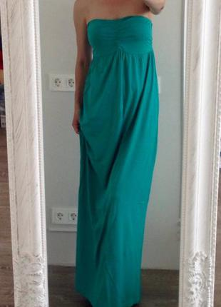 Платье макси denimco l/xl.