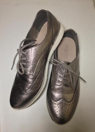Жіночі оксфорди, туфли /  footglove wider fit. 38.5-39р.