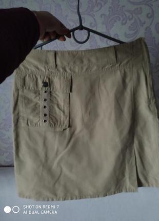 Женские юбка и спідниці бежевий розмір-38