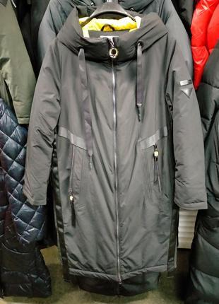 Удлиненная куртка пальто