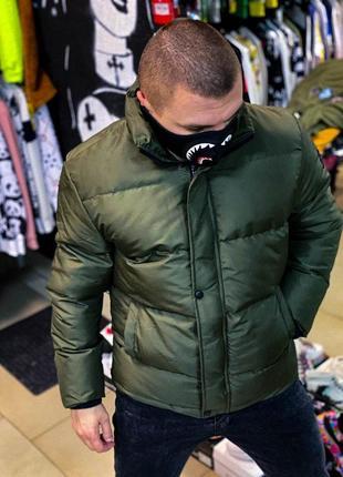 Плотная зимняя куртка. производитель турция.