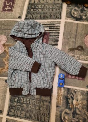 Куртка для хлопчика, 6-9 міс., р. 74 zara