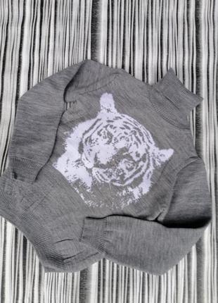 Стильные свитера для маленьких 👨7 фото