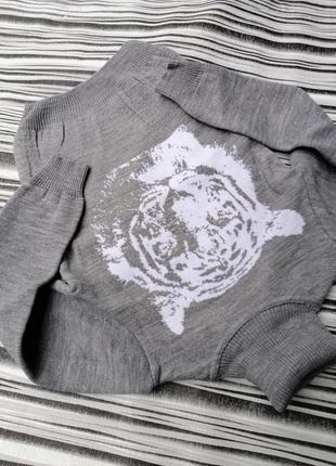 Стильные свитера для маленьких 👨10 фото