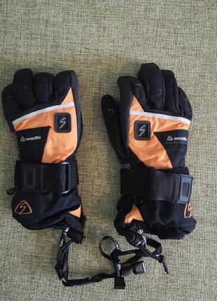 Гірськолижні (сноубордівські) рукавички з мембраною snowlife