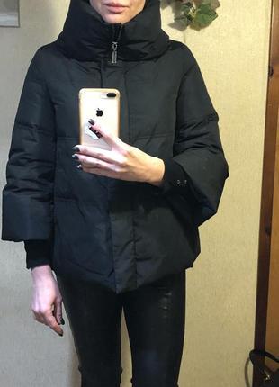 Тёплая куртка на натуральном пуху