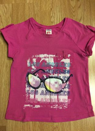 Фирменная яркая футболка here&there,майка,футболочка+подарок ремешок