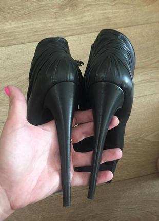 Ботильоны ботинки nando muzi оригинал