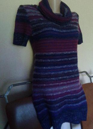 Фирменная румынская туника-короткое мини платье-кофта от etam