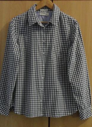 Супер брендовая блуза блузка рубашка хлопок