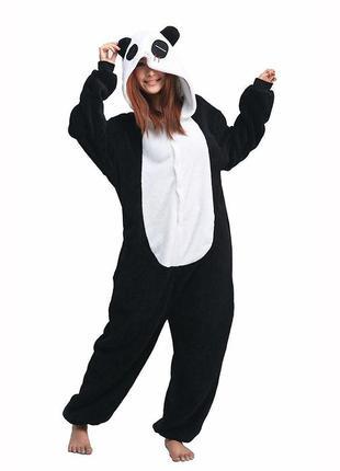 Кигуруми панда взрослым и детям р.100-175.