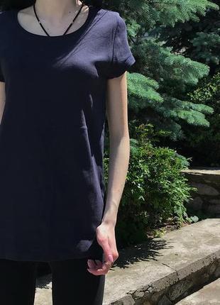 Женская базовая футболка peacocks ( пикокс м-лрр идеал оригинал черная)