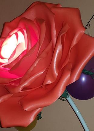 Роза светильник - торшер.