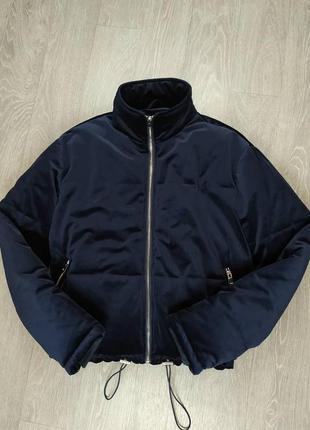 Классная велюровая куртка