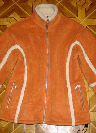 Демисезонная курточка на меху tony brown р.р.3xl-4xl