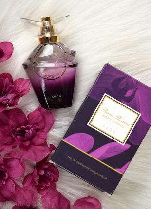 Парфюмерная вода avon rare flowers night orchid