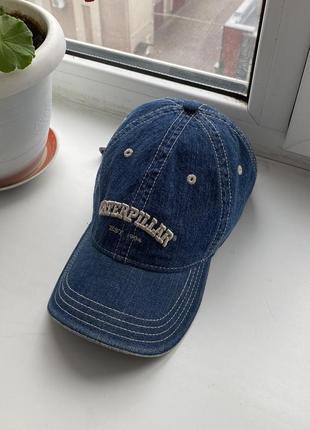 Мужская джинсовая кепка caterpillar est.1904 d7r оригинал