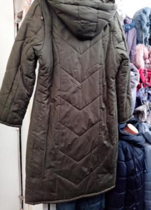 Подростковом пальто