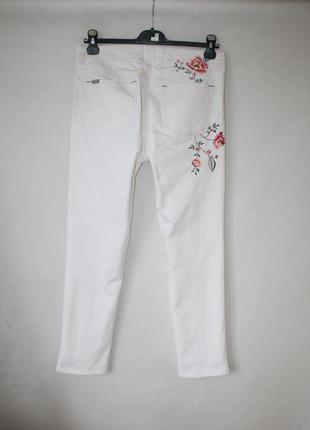 Супер джинсы с вышивкой