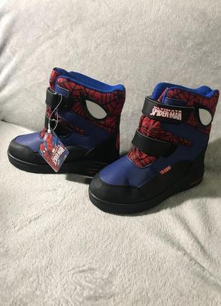 Зимние сапоги marvel spiderman c-texi
