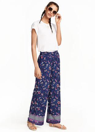 Легкие летние штаны h&m