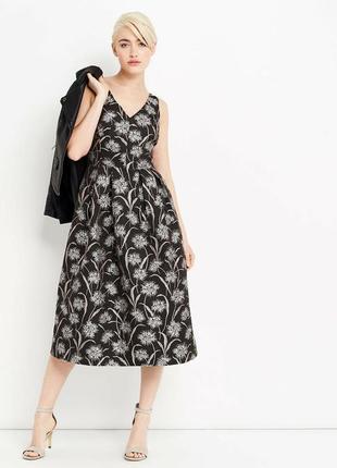 Шикарное брендовое нарядное дорогое платье oasis