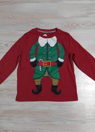 Новогодняя рождественская кофта свитшот от tu на ребенка 2-3года