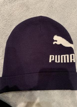 Зимняя шапка puma