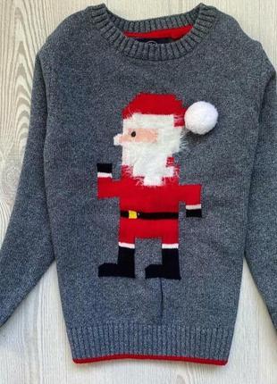 Теплый свитер next,рост 104 см(4 года).