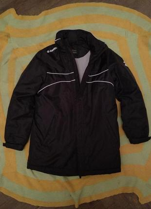 Куртка детская спортивная утепленная lotto, размер s (128-140 см)