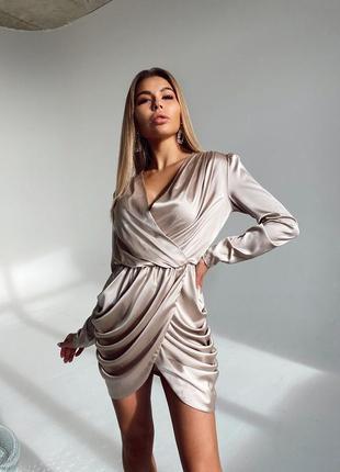 Платье вечернее шелк армани