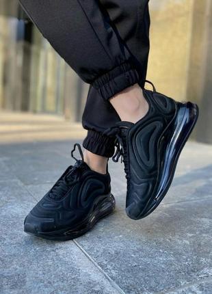 Кроссовки nike air max 720 black кросівки